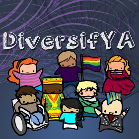 DiversifYA logo - group of diverse people